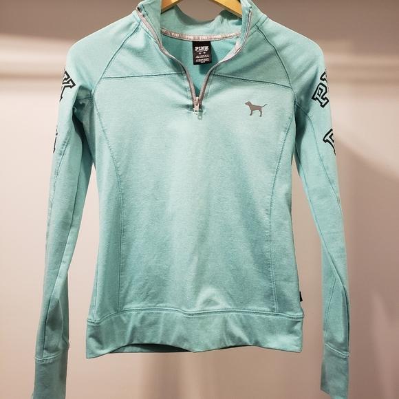 PINK Jackets & Blazers - Pink brand quarter-zip jacket